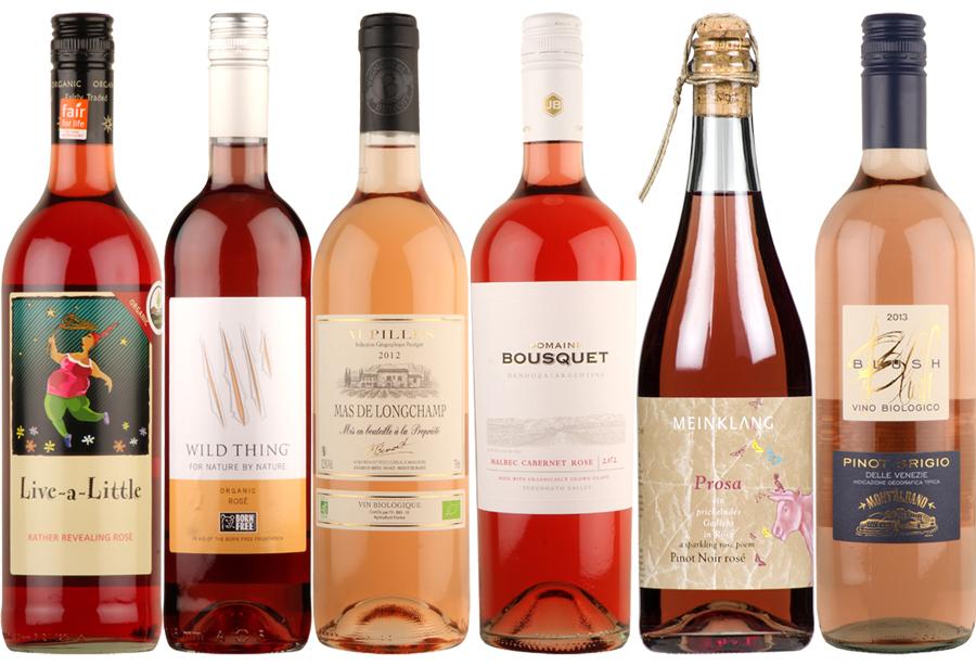 Box of 6 Organic Roses Wines