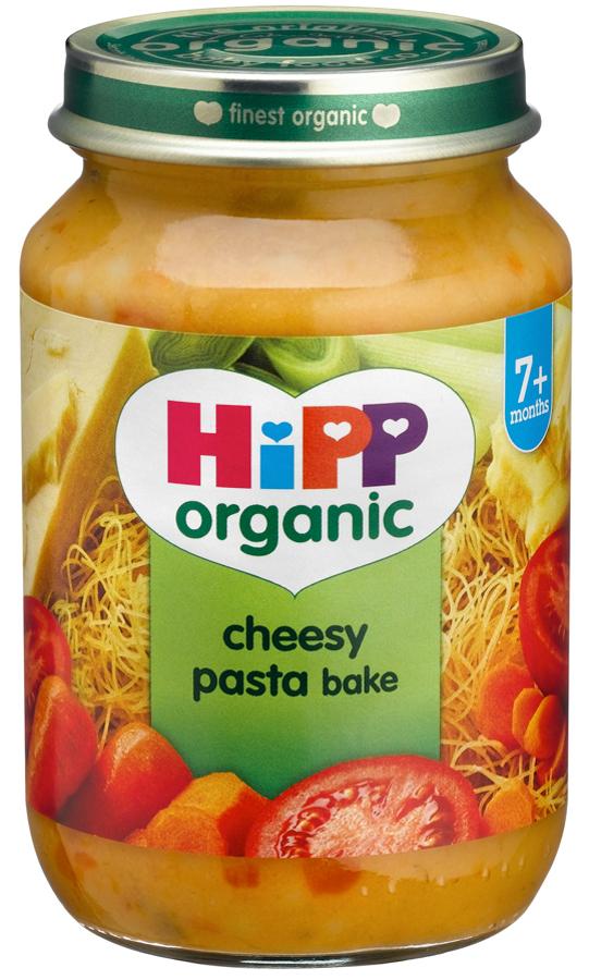 hipp organic cheesy pasta bake   7m   190g   hipp organic