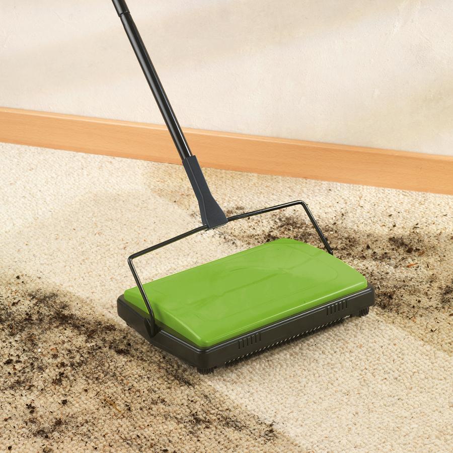 General Household Wenko Carpet Sweeper - Green