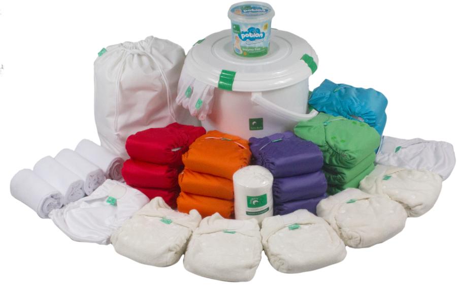 Tots Bots Birth to Potty Reusable Nappy Kit