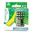 Ecoforce Recycled Dish Brush Refill - Pack of 2