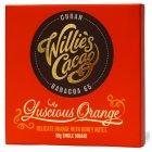 Willies Cacao Luscious Orange Cuban 65% Dark Chocolate Bar - 50g