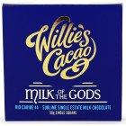 Willies Cacao Milk of The Gods Rio Caribe 44% Milk Chocolate Bar - 50g
