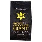 Montezuma's Organic Milk Giant Buttons 180g