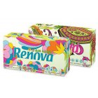 Renova Green 100% Recycled White 3Ply Tissues - Box of 80