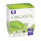 Organyc Night Heavy Flow Pads With Wings - Pack of 10 - Individually Wrapped