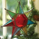 Hanging Star Tea Light Holder