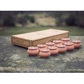 Rahul Mini Candle Pots - Set of 10