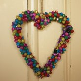 Multi-Coloured Heart of Bells
