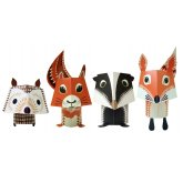 Forest Friends Paper Animals Kit