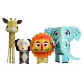 The Wild Bunch Paper Animals Kit
