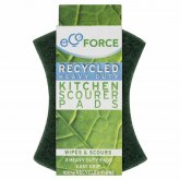 EcoForce Recycled Scourers - Heavy Duty 3pk