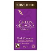Green & Blacks Dark Chocolate with Burnt Toffee - 100g