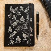 A5 Birds Hardcover Journal