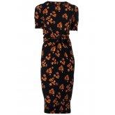 Nancy Dee Missy Poppy Print Dress