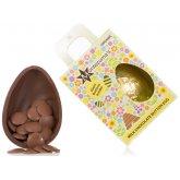 Montezuma's Organic Chunky Button Easter Egg - Milk Chocolate - 250g