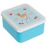 Blue Woodland Animals Lunch Box