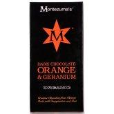 Montezuma's Organic Orange & Geranium Dark Chocolate - 100g