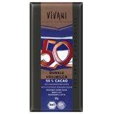 Vivani Organic Cocoa & Coconut Blossom Sugar Chocolate - 80g