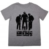 The Fableists 'I Don't Want To Be Like You' Organic Unisex T-Shirt - Grey