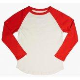 The Fableists Organic Unisex Baseball Shirt