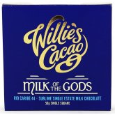 Willies Cacao Milk of The Gods Rio Caribe 44% Milk Chocolate Bar - 50g