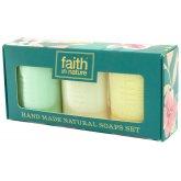 Faith in Nature Handmade Soap Gift Set