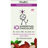 IQ Superfood Cocoa Nib Crunch Raw Chocolate - 35g