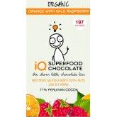 IQ Superfood Orange & Raspberry Raw Chocolate - 35g