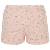 People Tree Cloud Print Pyjama Shorts - Pink