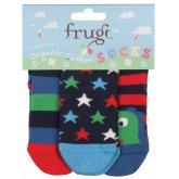 Frugi Little 3 Pack Socks - Dino