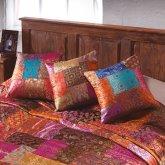 Brocade Patchwork Cushion