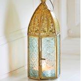 Antique Brass Moroccan Style Lantern