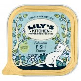 Lily's Kitchen Organic Fish Dinner For Cats - 100g