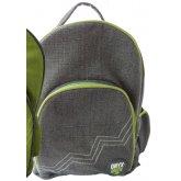 Jute & Cotton Blend Backpack - Grey