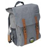 Ramie Leaf & Jute Blend Backpack - Grey