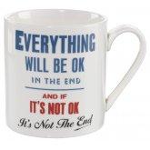 Home Front Ceramic Mug - Everything Will Be Ok - 400ml