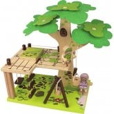 Tree House Wooden Toy Set