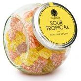 Sugar Sin 100% Natural Sour Tropical Vegan Jelly Sweets - 280g