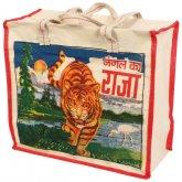 Reusable Shopping Bag - Bollywood Tiger