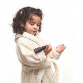 Organic Cotton Baby Robe - 3-5yrs