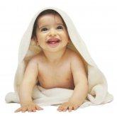 Organic Cotton Baby Hooded Towel - 80x80cm