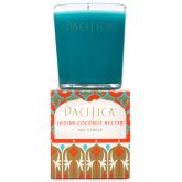 Pacifica Indian Coconut Nectar Scented Soy Candle - 160g