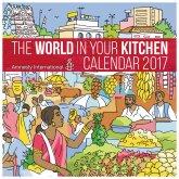 Amnesty World in your Kitchen Calendar 2017
