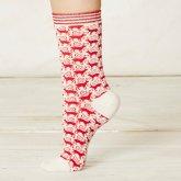 Braintree Dasher Bamboo Socks - Snow