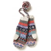Finisterre Lined Mittens - Oatmeal