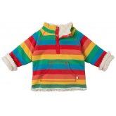 Frugi Little Snuggle Happy Rainbow Fleece