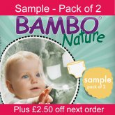Bambo Nature Disposable Nappies - Sample Pack of 2 Nappies