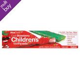 Children's Fluoride Free Toothpaste - Strawberry - 50ml