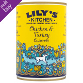 Lily's Kitchen Organic Chicken Casserole For Dogs - 400g